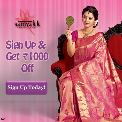 Sign Up & Get Rs.1000/- OFF